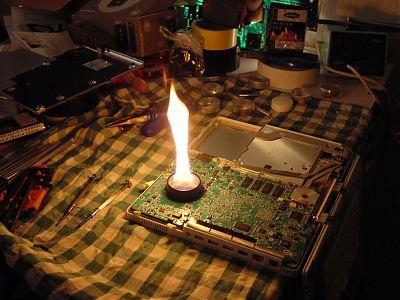 Diy obsolete ibook logic board repair projects geek technique click to enlarge solutioingenieria Gallery