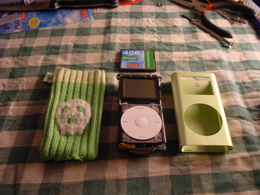 Apple iPod Mini 2nd Generation 4GB 6GB Click Wheel /& Molex Ribbon A1051